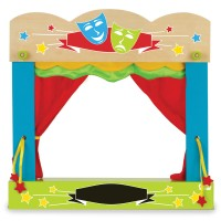 Fiesta Crafts - Finger Puppet Theatre