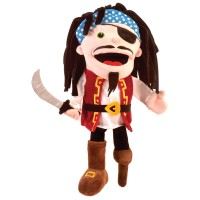 Fiesta Crafts - Pirate Hand Puppet (x2)