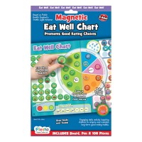 Fiesta Crafts - Magnetic Eat Well Chart (x3)