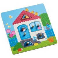 HABA - Peg Puzzle My Home