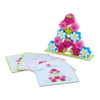HABA - Stacking Game Magic Flowers