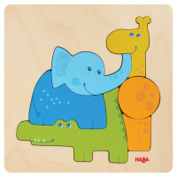 HABA - Wooden Puzzle Zoo Animals