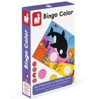 Janod - Bingo Colour Game