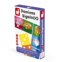 Janod - Dominos Game Rigolooo