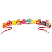 Janod - Stringable Circus Beads (42 Pcs)