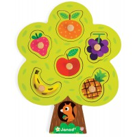 Janod - Fruit Tree Puzzle (x4)