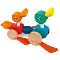 Janod - Duck Family Pull Along