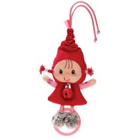Lilliputiens - Red Riding Hood Bell Rattle
