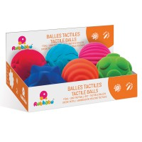 Rubbabu - Tactile Balls POS (6 Pc)
