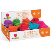 Rubbabu - Little Vehicles Assorted POS (8 Pc)